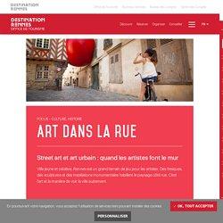Street art et art urbain à Rennes : quand les artistes font le mur