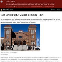 16th Street Baptist Church Bombing (1963)