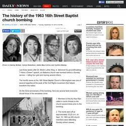 10 key facts about the 16th Street Baptist church bombings