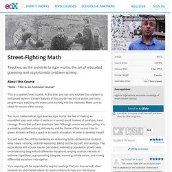 Street-Fighting Math