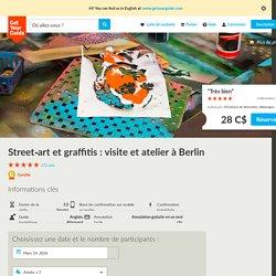 Street-art et graffitis : visite et atelier à Berlin