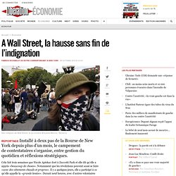 A Wall Street, la hausse sans fin de l'indignation