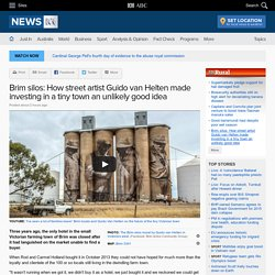 Brim silos: How street artist Guido van Helten made investing in a tiny town an unlikely good idea