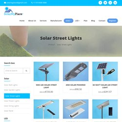 Why Choose LED Solar Lights Compared to Normal Lights?