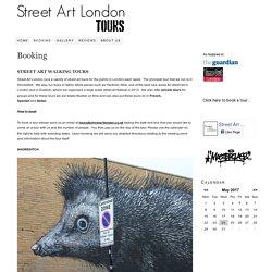 Street Art London Tours – Booking