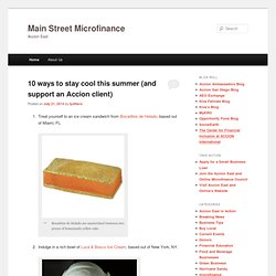 Main Street Microfinance