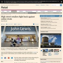 High street retailers fight back against online rivals