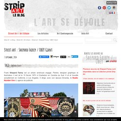 Street art : Shepard Fairey / OBEY Giant - sur Strip Art le Blog