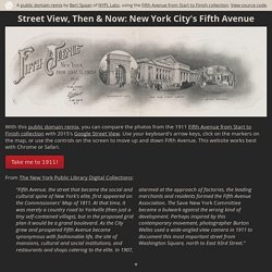 Street View, Then & Now: New York City's Fifth Avenue