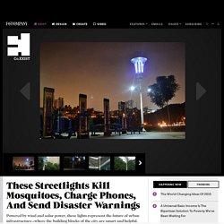Streetlights kill mosquitos