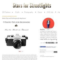 Photo Tips and Techniques for Beginners| DIY Fashion and Craft TutorialsStars for Streetlights
