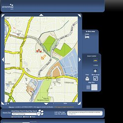 Streetmap.co.uk- search results for 618250,216750