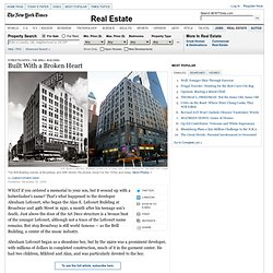 Streetscapes | The Brill Building - Built With a Broken Heart