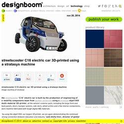 StreetScooter C16 voiture électrique 3D-imprimé en utilisant une machine Stratasys