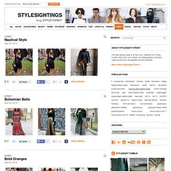 | Stylesightings