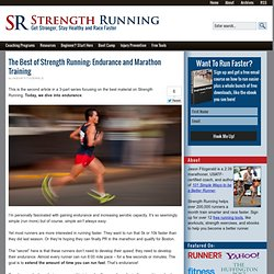The Best of Strength Running: Endurance and Marathon Training