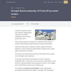 Strength-Based Leadership: 34 Traits Of Successful Leaders