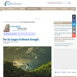 The Six Stages of Mental Strength