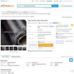 High Strength Carbon Fiber Fabric - Buy Carbon,Carbon Fiber,Carbon Car Product on Alibaba