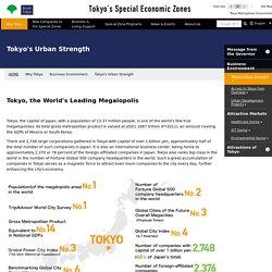 Invest Tokyo:Tokyo's Special Economic Zones