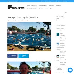 Strength Training for Triathlon - Trisutto