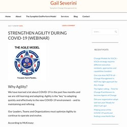 Strengthen Agility during COVID-19