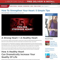 How To Strengthen Your Heart: 5 Simple Tips