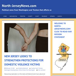 New Jersey Looks To Strengthen Protections For Domestic Violence Victims