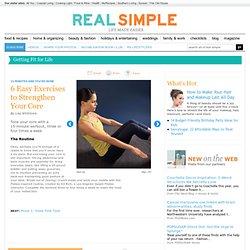6 Core-Strengthening Exercises