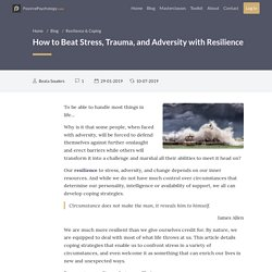 How to Beat Stress, Trauma, and Adversity with Resilience
