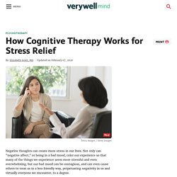 How to Get Stress Relief With Cognitive Therapy