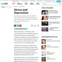 The Stress-Depression Connection