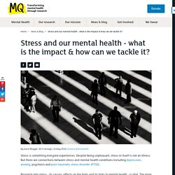 How does stress impact our mental health?