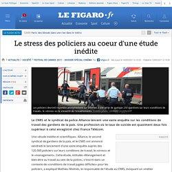 Le stress des policiers au coeur d'une étude inédite