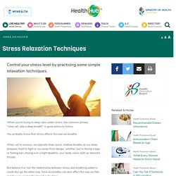 Stress Relaxation Techniques