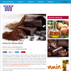 Foods for Stress Relief