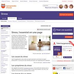 Stress : tout savoir sur le stress en une page