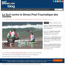 Le Surf contre le Stress Post-Traumatique des Soldats