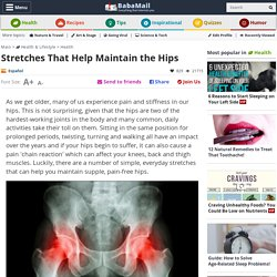 Stretches To Avoid Hip Pain and Degeneration