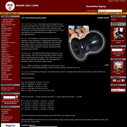 24/7 Anal Stretching Ring MEO - MEO-TEAM - Clinical / Enema - meo.de - MEO makes you come