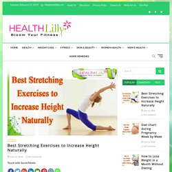Best Stretching Exercises to Increase Height Naturally