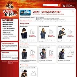 Strickrechner - Startseite Strickrechner Strickrechner_Startseite