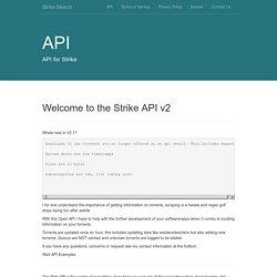 Strike API