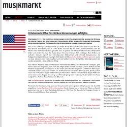 USA: Six-Strikes-Verwarnungen erfolglos