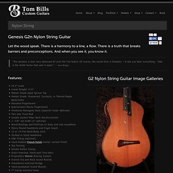 nylon string guitar information and specs
