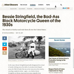 Bessie Stringfield, the Bad-Ass Black Motorcycle Queen of the 1930s - Atlas Obscura