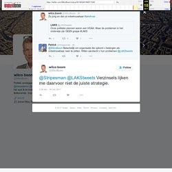 """wilco boom on Twitter: """"@Stripesman @LAKStweets Verzinsels lijken me daarvoor niet de juiste strategie."""""""