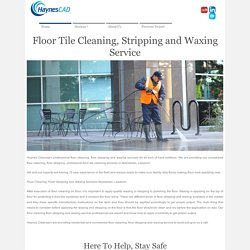 Floor Stripping, Tile Cleaning and Waxing Service In Norristown, Lebanon