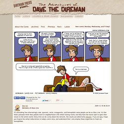 Comic Strips by Dave the Direman | The Adventures of Dave the Direman | Direman Press