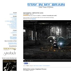 Stay in my brain - Strobist: Travaux & Références